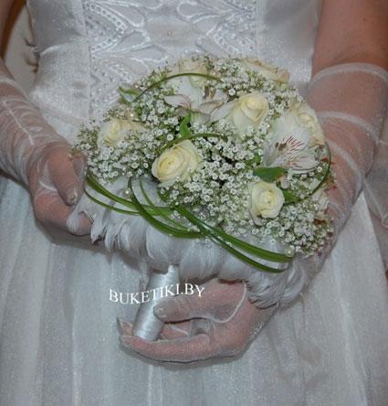 Юбка на свадебный букет