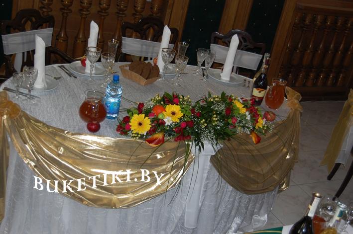 оформление цветами свадеб